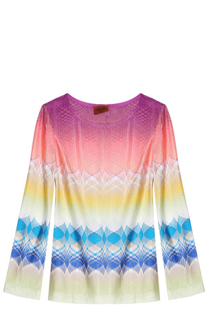 Missoni Women`s Mesh Knit Top Boutique1