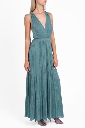 Missoni Women`s Lam Plisse Deep V-neck Dress Boutique1