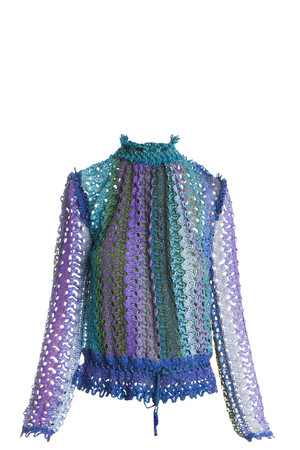 Missoni Women`s Lurex Lace Top Boutique1