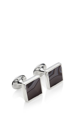 Monica Vinader Men`s Onyx Square Cufflinks Boutique1