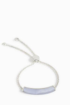 Monica Vinader Women`s Linear Stone Chain Bracelet Boutique1