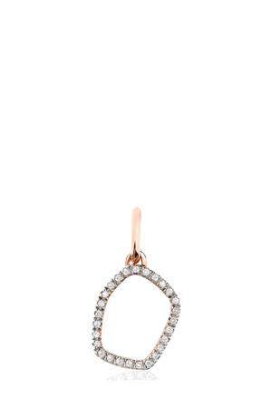 Monica Vinader Women`s Mini Riva Hoop Pendant Boutique1