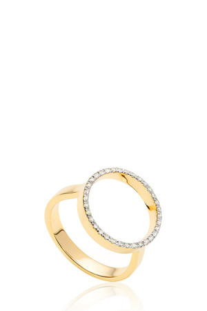 Monica Vinader Women`s Naida Diamond Ring Boutique1
