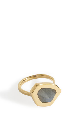 Monica Vinader Women`s Petra Stacking Ring Boutique1