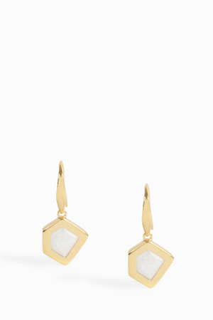 Monica Vinader Women`s Petra Wire Earrings Boutique1