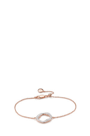 Monica Vinader Women`s Riva Diamond Bracelet Boutique1