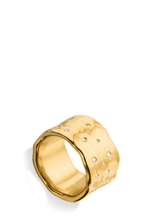 Monica Vinader Women`s Scattered Topaz Siren Ring Boutique1