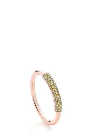 Monica Vinader Women`s Stellar Diamond Stacking Ring Boutique1