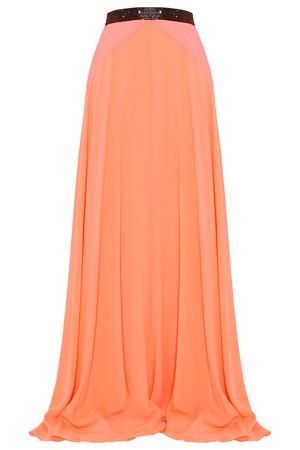 Roksanda Women`s Moreton Stretch Silk Maxi Skirt Boutique1