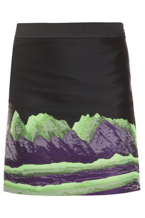 Alexander Wang Women`s Mountain Embroidered Skirt Boutique1