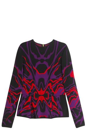 Elie Saab Women`s Multi Knit Blouse Boutique1