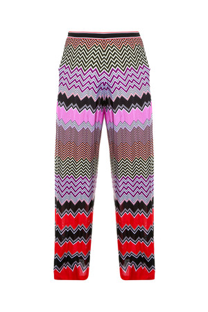 Missoni Women`s Multi Stripe Split Trousers Boutique1