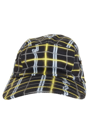 Kenzo Men`s Neon Plaid Caps Boutique1