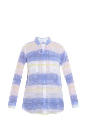 Splendid Women`s Ocean Stripe Shirt Boutique1