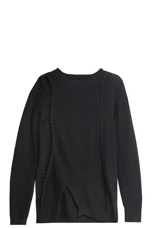 3.1 Phillip Lim Women`s Open Stitch Pullover Boutique1