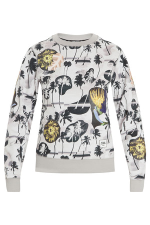 Opening Ceremony Women`s Palm Collage Sweatshirt Boutique1