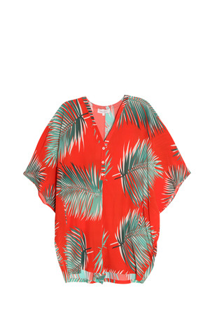 Paul Joe Women`s Palm Print Romper Boutique1