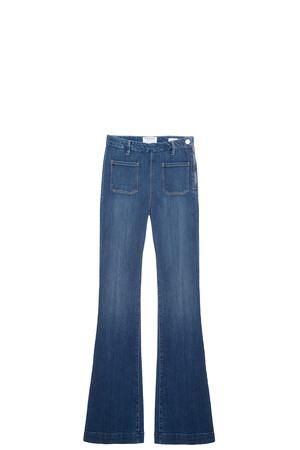 Frame Denim Women`s Patch Pocket Jeans Boutique1