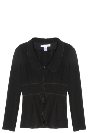 Oscar De La Renta Women`s Peplum Jacket Boutique1