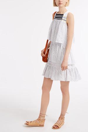 Peter Pilotto Women`s Stripe Mini Dress Boutique1