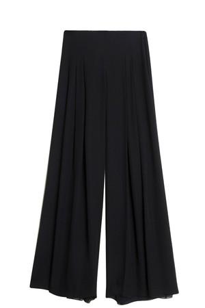 Oscar De La Renta Women`s Pleated Trousers Boutique1