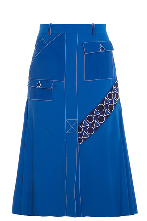 Peter Pilotto Women`s Pocket Midi Skirt Boutique1