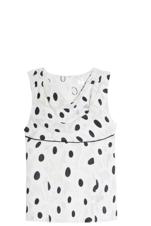 Oscar De La Renta Women`s Polka Dot Top Boutique1