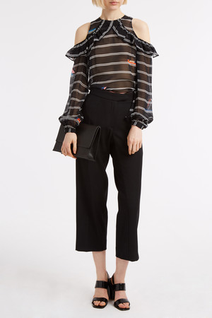 Preen By Thornton Bregazzi Women`s Terry Trousers Boutique1