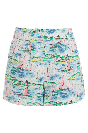 Paul Joe Women`s Printed Shorts Boutique1