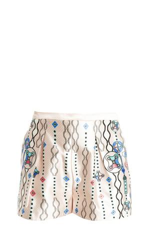 Peter Pilotto Women`s Printed Shorts Boutique1