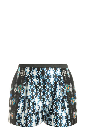 Peter Pilotto Women`s Printed Shorts Boutique1
