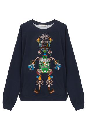 Mary Katrantzou Women`s Printed Sweater Boutique1