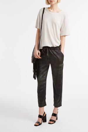 Raquel Allegra Women`s Tie-dye Silk Trousers Boutique1