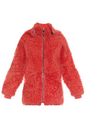 Paul Joe Women`s Reversible Leather Shearling Coat Boutique1