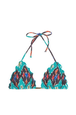 Vix Women`s Rippled Bikini Top Boutique1