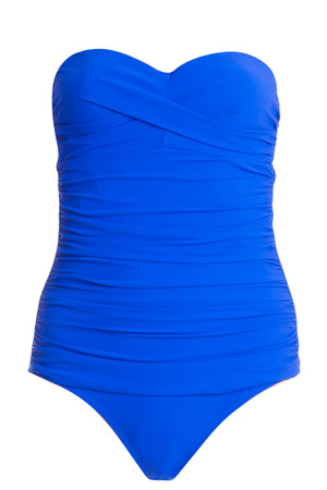 Ruched One Piece Swimsuit