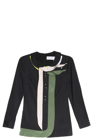 Peter Pilotto Women`s Ruffle Blouse Boutique1