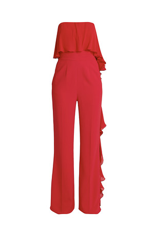 Elie Saab Women`s Ruffled Jumpsuit Boutique1