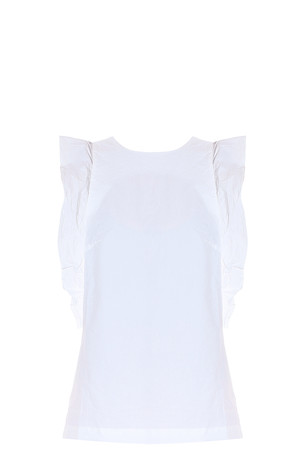 Mih Jeans Women`s Ruffled Top Boutique1