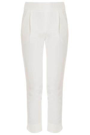 Giambattista Valli Women`s Silk Crop Trousers Boutique1