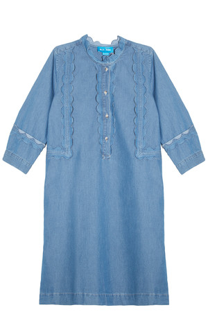 Mih Jeans Women`s Scalloped Dress Boutique1