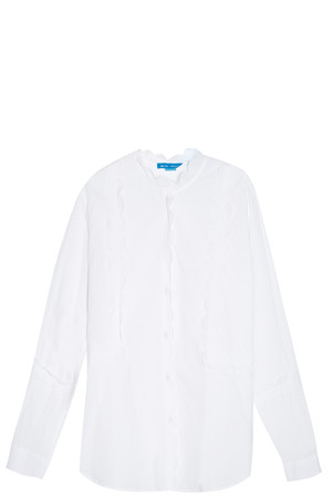 Mih Jeans Women`s Scalloped Shirt Boutique1