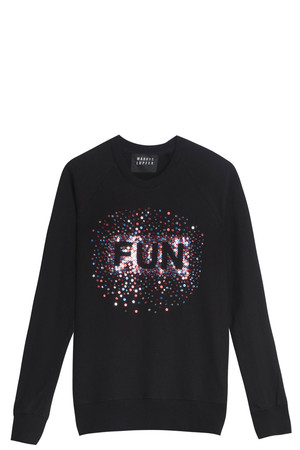 Markus Lupfer Women`s Scattered Sequin Jumper Boutique1