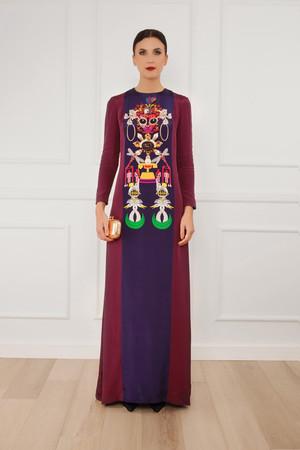 Mary Katrantzou Women`s Sentinel Printed Gown Boutique1