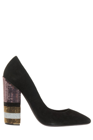 Giambattista Valli Women`s Sequined Pumps Boutique1