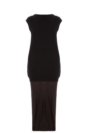 T By Alexander Wang Women`s Sheer Bottom Dress Boutique1