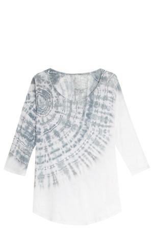 Raquel Allegra Women`s Shredded Back Top Boutique1