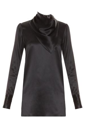Adam Lippes Women`s Silk Bandana Scarf Top Boutique1