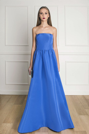 Oscar De La Renta Women`s Silk Faille Gown Boutique1