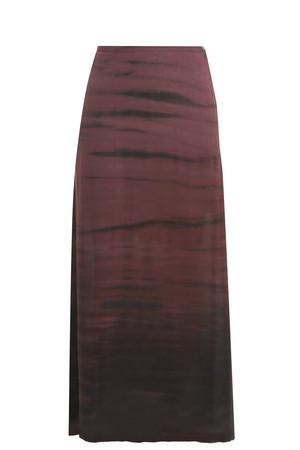 Raquel Allegra Women`s Silk Maxi Skirt Boutique1